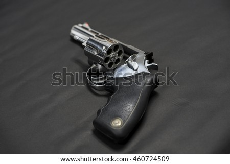 magnum gun without bullets magnum revolver stock photo edit now