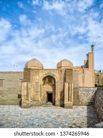 Magoki Attori Mosque In The Historic Centre Of Bukhara, Uzbekistan. The Mosque Is The Oldest Mosque In Bukhara Dating Back To The Zoroastrianism Period