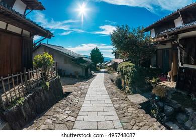 Magome-Juku in Nagano Japan