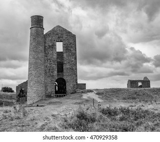 Magpie Mine, disussed lead mine, Sheldon, Ashford in the water, Derbyshire, Uk