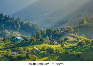 Magura village, near Zarnesti city, Brasov county, Transylvania, Romania