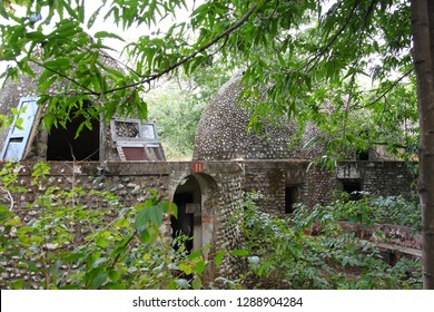 Maharishi Mahesh Yogi Ashram (Beatles Ashram) in Rishikesh, Northern India