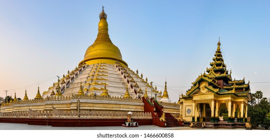 Mahazedi Pagoda in the old city of Bago, Myanmar