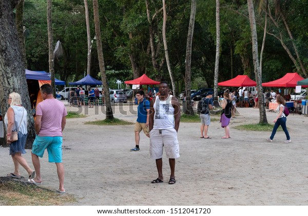 Mahe Seychelles August 13 2019 Young Stock Photo Edit Now