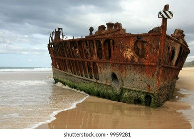 Maheno Ship Wreck - Fraser Island, UNESCO, Australia