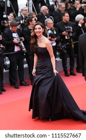 Mahira Khan attends the screening of 'Blackkklansman' during the 71st annual Cannes Film Festival at Palais des Festivals on May 14, 2018 in Cannes, France.