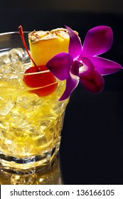 """Mai Tai translates from Tahitian to mean """"Out of this World."""" The Mai Tai was developed 1944, in the Oakland's Trader Vic's. Victor Bergeron, put together this great drink."""