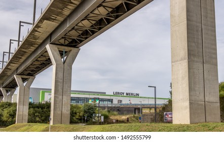 Maia, Portugal 23/08/2019: Leroy Merlin store in Portugal.