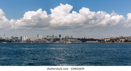 maiden tower at the istanbul turkey