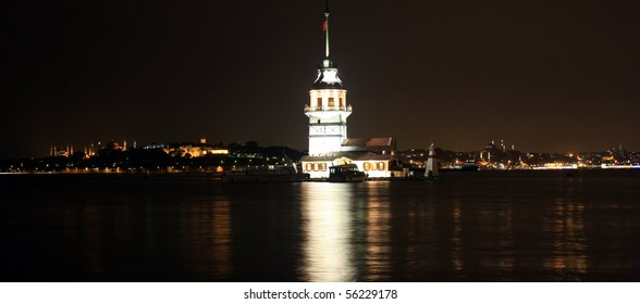 Maiden Tower in Istanbul-2010 European Capital of Culture