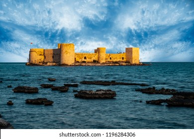 The Maiden's Castle(Kiz kalesi Mersin -Turkey)