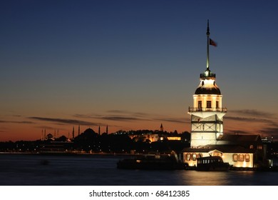The Maiden's Tower in Istanbul