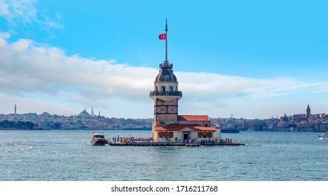 Der Maidenturm (Kiz kulesi) - istanbul, Türkei