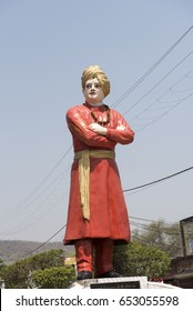 Maihar / India 11  May 2017  Statue of Swami Vivekanand  at Maihar  Madhya Pradesh India