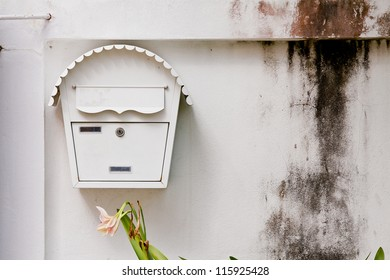mail box in front of house