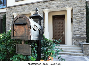 Mail Box of Luxury House