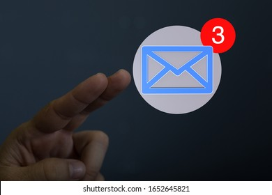 Mail Communication Connection message to mailing
