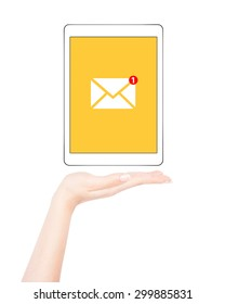 Mail notification on tablet pc