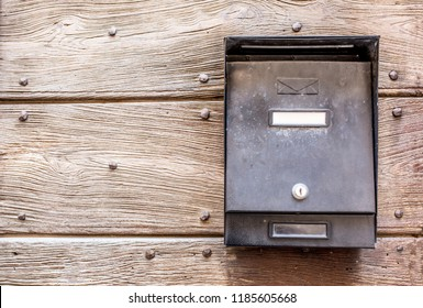 Mailbox, letters and messages, postman vintage view