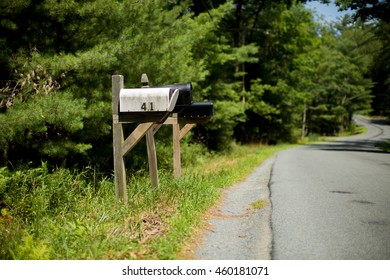 Mailbox at the road