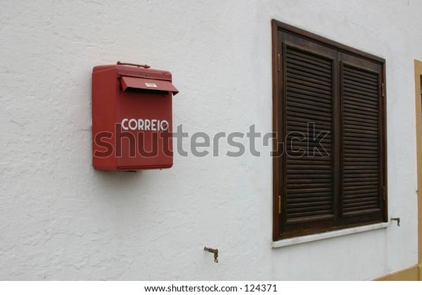 mailbox and window