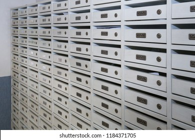 Mailboxes in the condo
