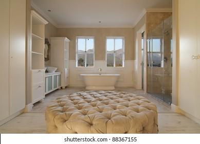 Main bathroom within a modern house