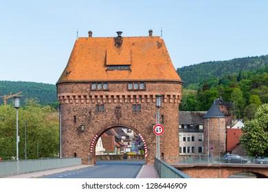 Main Bridge Miltenberg Bavaria