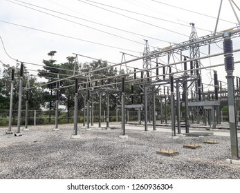 Main Bus high voltage at Electric Power Substation