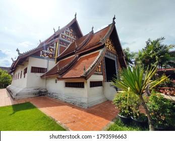 The main chapel of Wat Nong Bua in Nong Bua village, Nan province, THAILAND.