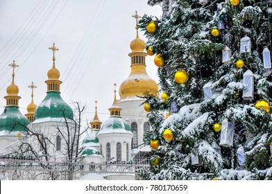 main christmas tree in ukraine