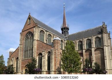 Main church, or Grote Kerk, or Maria Magdalenakerk in Goes, Holland