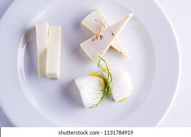 main courses ready in a gourmet restaurant