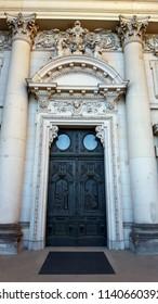 Main door of the Berlin Dome church