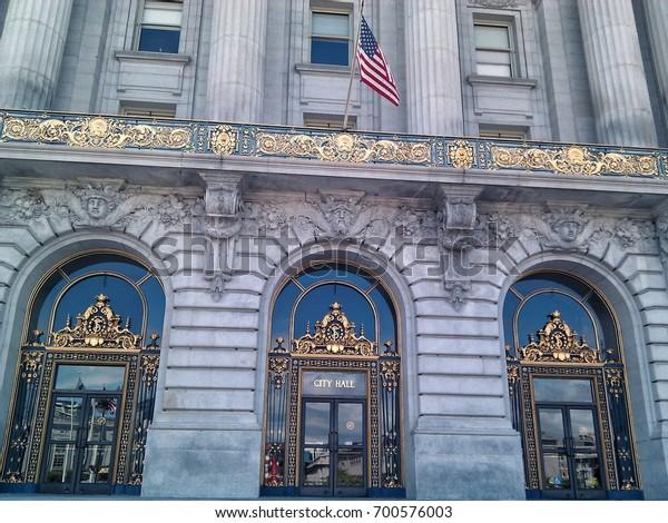 Main entrance to San Francisco City Hall
