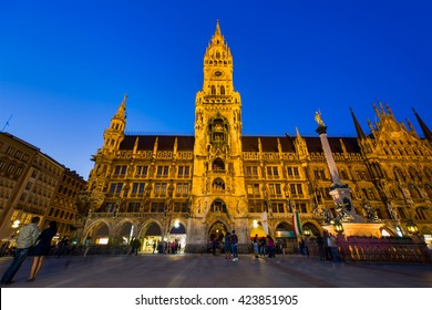 Main facade of the New Town Hall (Neues Rathaus) building