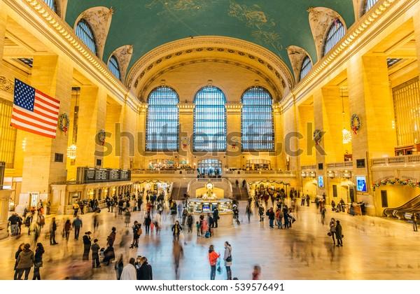 Main hall Grand Central Terminal, New York