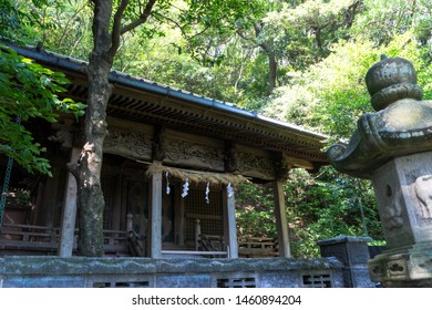 Main hall of Shizuoka Hachiman Shrine