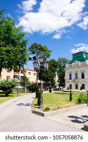 The main landmark of the beautiful Balkan city of Vrsac, located on the border between Serbia and Romania, is the magnificent palace of Orthodox Church Patriarcy and old historical cathedral