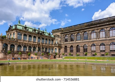 The main landmark of Dresden - Gallery of Old Masters in Dresden, Germany