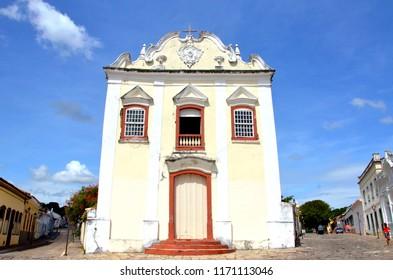 Main monument of Cidade de Goias