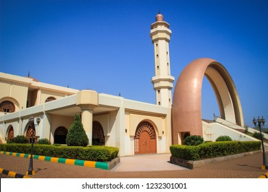 The main mosque in Kampala. Uganda
