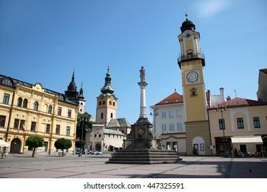 Main square of Banska Bystrica, Slovakia