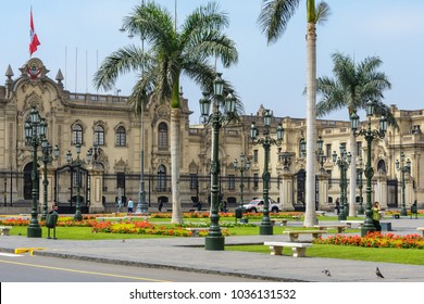 Main Square and Government Palace, Lima, Peru