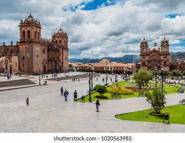 Main Square, Old Town, Cusco, Peru