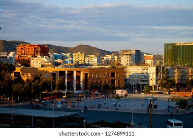 Main Square in Tirana - Albania