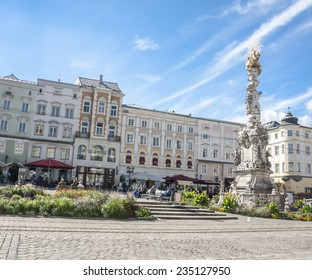 Main Square view in Linz, Austria
