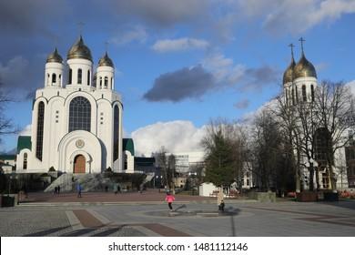 The main temple in Kaliningrad