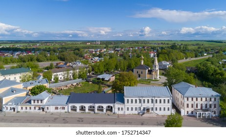 The main tourist street of Suzdal, Russia.