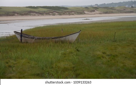 Maine Deserted Boat